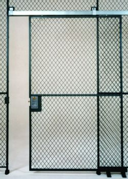 The most economical style sliding door. Used where the 7 ft. height is sufficient available in 3 4 5 \u0026 6 ft. widths. & Wire Partitions - Complex Steel and Wire Corporation